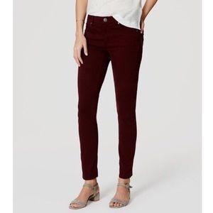 LOFT women's modern skinny jeans